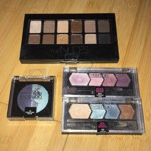 Maybelline eyeshadow pack